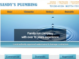 https://www.sandysplumbing.co.uk/ website