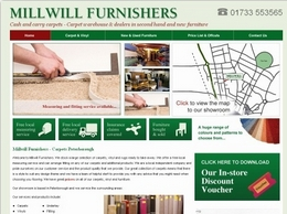 https://www.millwillfurnishers.co.uk/ website