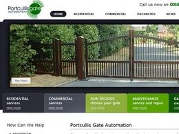 http://portcullisgates.co.uk website
