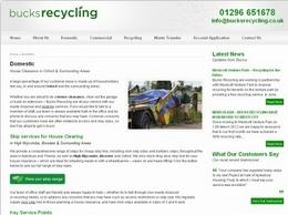 http://www.bucksrecycling.co.uk/domestic/ website