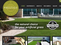 https://www.prestige-lawns.co.uk/ website