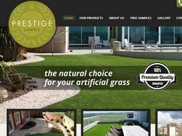 https://www.prestige-lawns.co.uk/ website