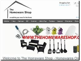 http://thehomewareshop.com website