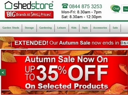 https://www.shedstore.co.uk website