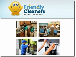 https://www.friendlycleaners.co.uk website