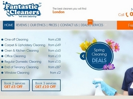http://www.fantasticcleaners.com website