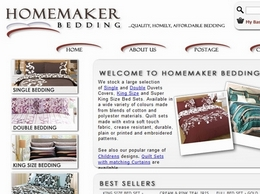 http://www.homemaker-bedding.co.uk/ website