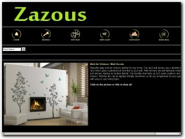 http://www.zazous.co.uk website