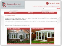 http://trade.dempseydyer.co.uk/conservatories website