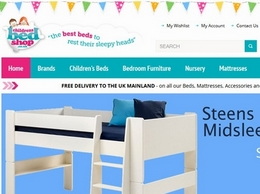 https://www.childrensbedshop.co.uk/ website
