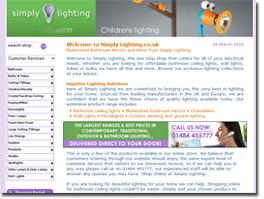 http://www.simply-lighting.co.uk website
