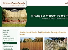 http://www.discountfencepanels.co.uk website