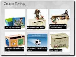 http://www.customtoybox.co.uk website