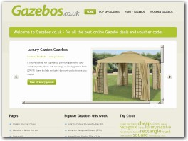 http://www.gazebos.co.uk website