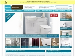 http://www.libertybathrooms.com website
