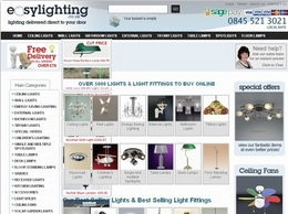 https://www.easylighting.co.uk website
