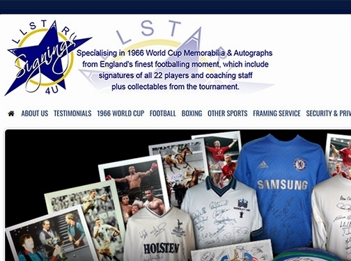 https://www.allstarsignings4u.co.uk/ website