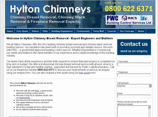 https://hyltonchimneys.co.uk/ website