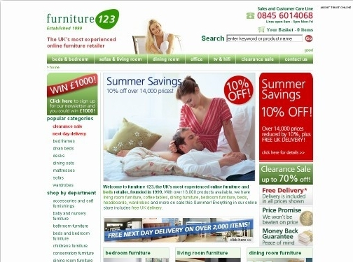 https://furniture123.co.uk/ website