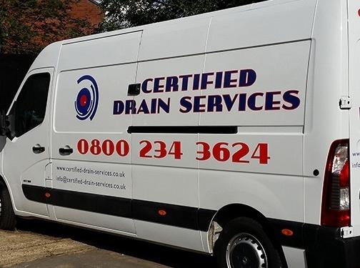 https://www.certified-drain-services.co.uk/ website
