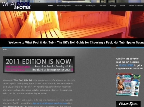 http://www.whatpoolandhottubmag.co.uk website