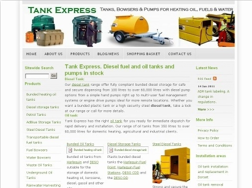 http://www.tankexpress.co.uk/ website