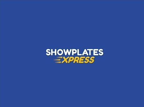 https://www.showplatesexpress.com/show-plates-maker/ website