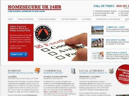 https://www.homesecureukglaziers.co.uk/ website