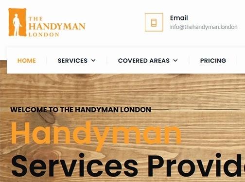 https://thehandyman.london/ website