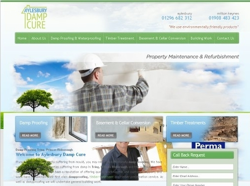 http://www.aylesburydamp.co.uk/damp-proofing/tring.php website