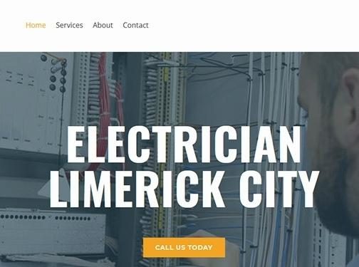 https://www.electricianlimerickcity.com/ website