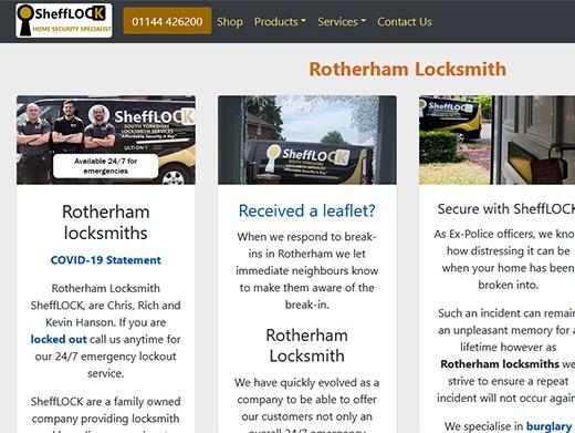 https://www.locksmithrotherham.co.uk/ website