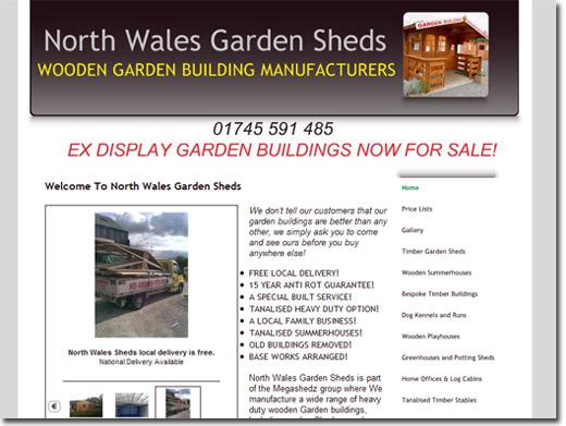 https://www.northwalesgardensheds.co.uk website