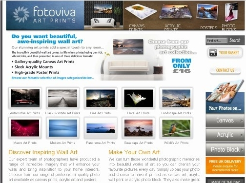 https://fotoviva.co.uk website