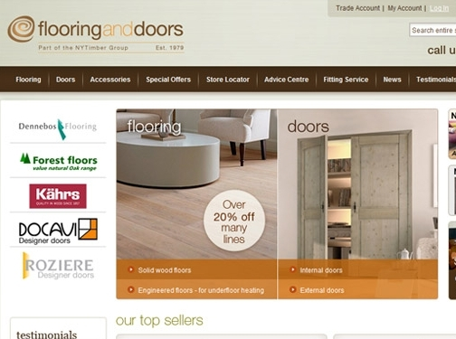 https://www.flooringanddoors.co.uk website