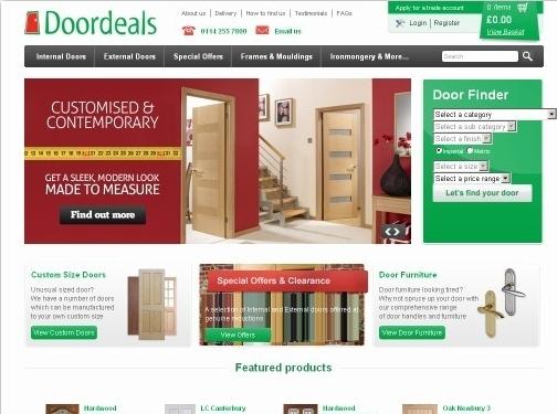https://www.doordeals.co.uk/ website