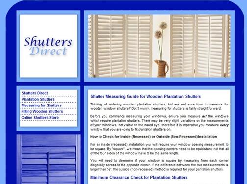 https://www.shutters-direct.co.uk/ website