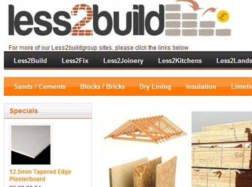 https://www.less2build.com website