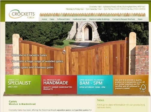 https://www.crockettsgates.co.uk/ website