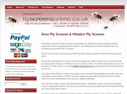 http://www.flyscreensonline.co.uk/ website