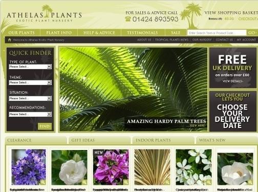 https://www.athelasplants.co.uk website