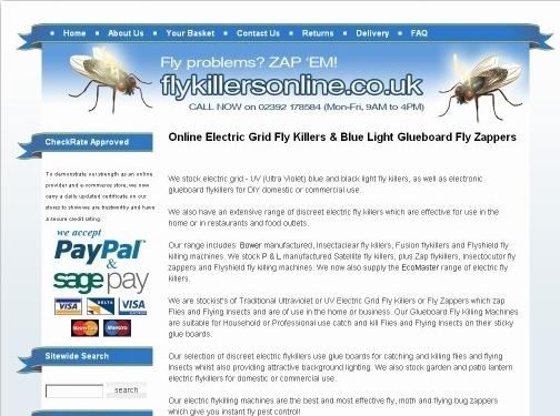 https://www.flykillersonline.co.uk/ website