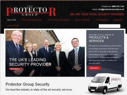 http://www.protectorsecurity.co.uk/ website