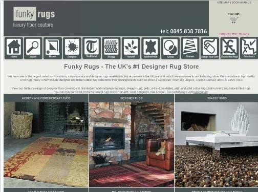 https://www.funkyrugs.co.uk website