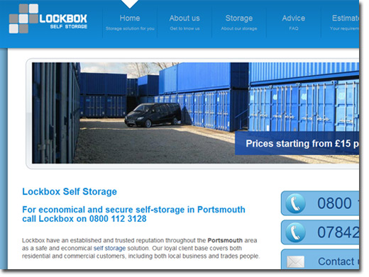 http://www.lockbox-selfstorage.co.uk/ website