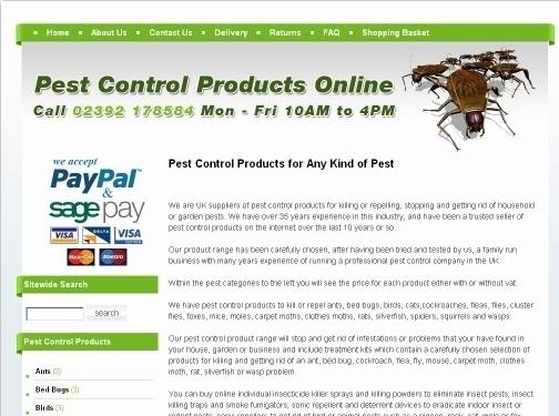 http://www.buypestcontrolproductsonline.co.uk/ website