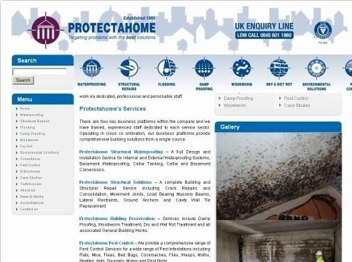 https://www.protectahome.co.uk website