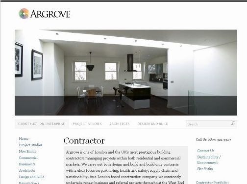 http://argrove.co.uk website
