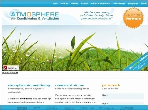 https://www.atmosphereaircon.com/ website