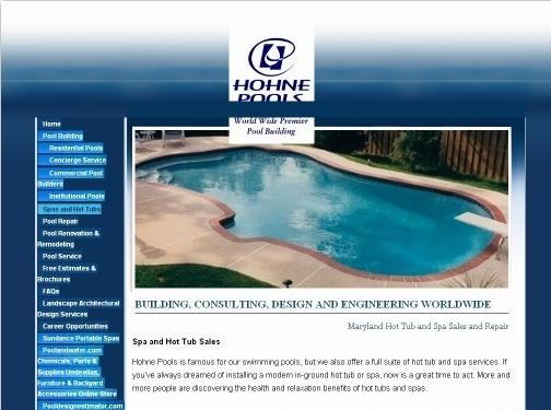 https://www.hohne.com/spas-hot-tubs-sales-repair/ website
